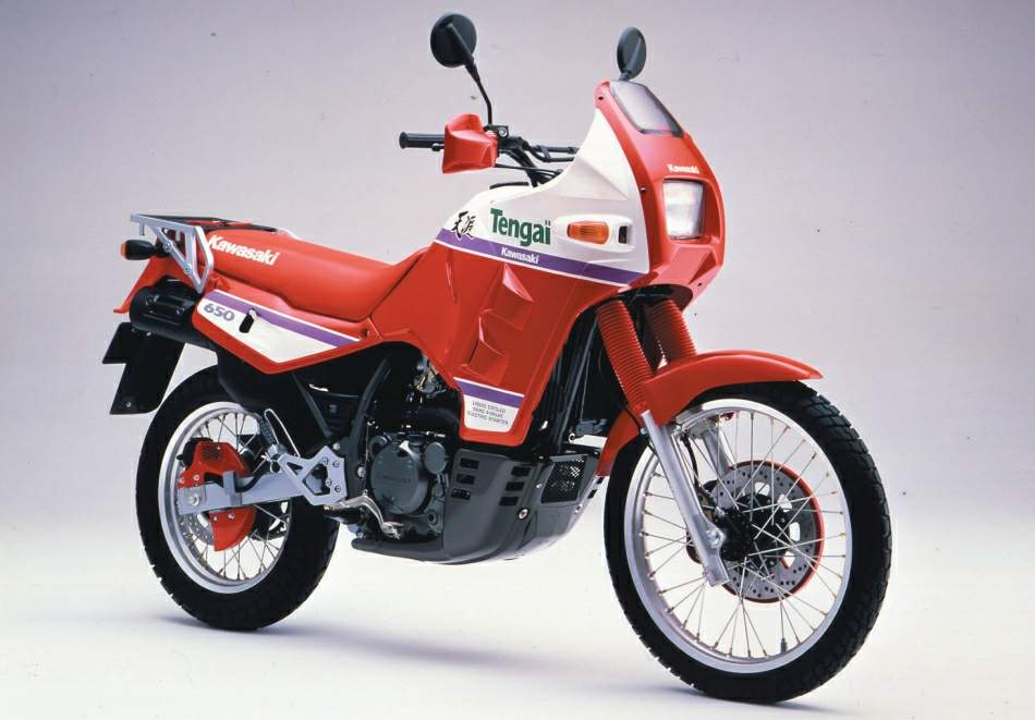 Kawasaki KLR 650 Tengai technical specifications